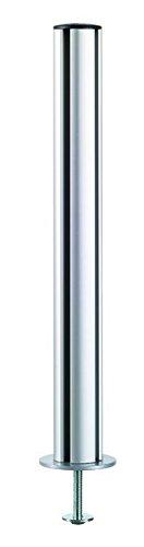 Novus Dahle 961+0139+000 Monitorhalterung, Metall, silber, 54,5 x 5,1 x 5,1 cm -