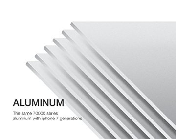 Spinido Verbesserte Alulegierung Cooling Laptop Stand, geeignet für Apple Macbook, alle Notebooks, Tablets, eBook-Reader und Bücher - Silber (Patentiert) -