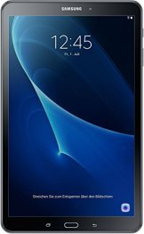 Samsung Galaxy Tab A SM-T580 25,54 cm (10,1 Zoll) Tablet-PC (1,6 GHz Octa-Core, 2GB RAM, 32GB eMMC, WiFi, Android 6.0) schwarz - 1