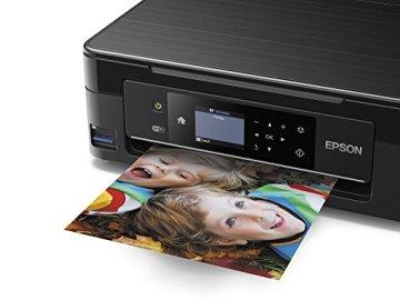 Epson C11CF30403 Expression Home XP-442 3-in-1 Tintenstrahl-Multifunktionsgerät (Drucker, Scanner, Kopierer, WiFi, Duplex, Einzelpatronen) schwarz - 4