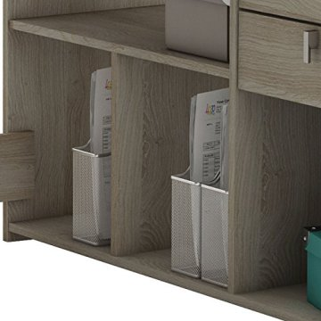 habeig Eck-Schreibtisch #204 Shannon Eiche Honig- Schreibtisch PC-Tisch Eckschreibtisch - 8