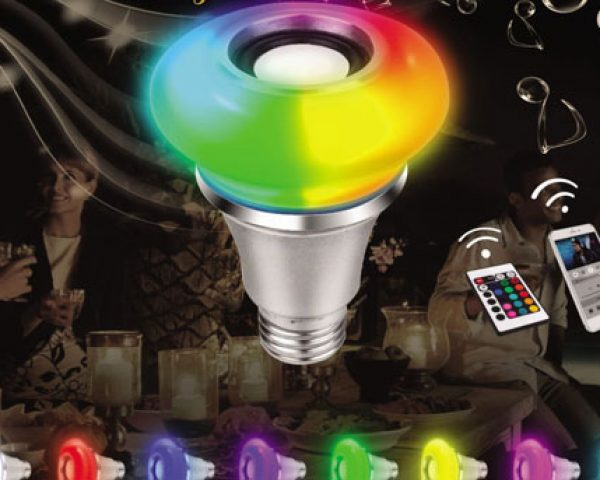 Ampoule Led E27 Queen RGB Bluetooth
