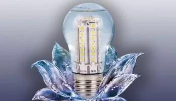 Ampoule LED liquide