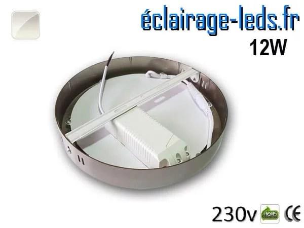 Spot LED Chrome 12W Blanc naturel design deporte