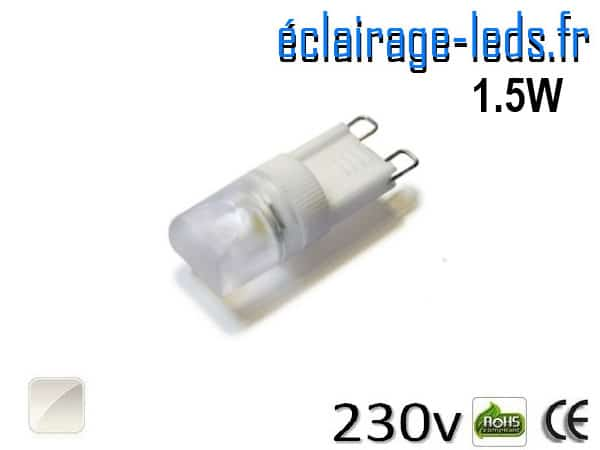 Blanc Ampoule Led Eclairage G9 1 Archives 5w 230v Naturel f7Ygvyb6