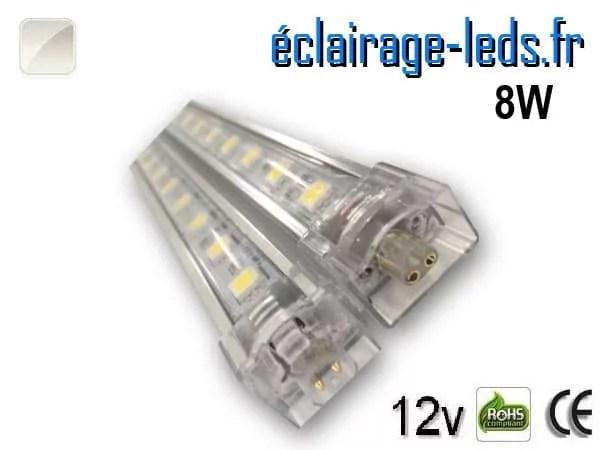 Bandeau LED intermédiaire 50cm rigide 8W Blanc naturel 12V