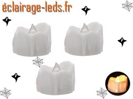 3 Bougies LED