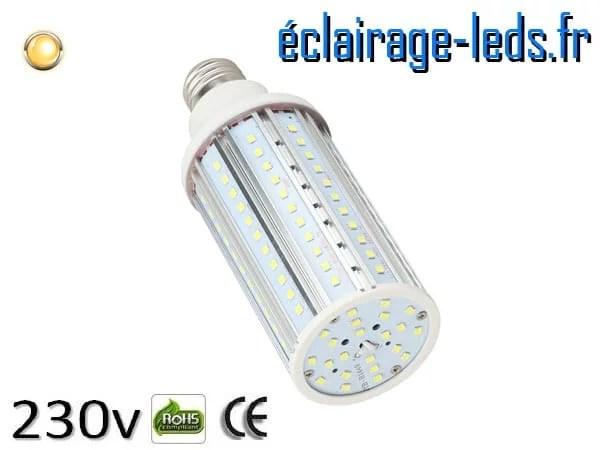 Ampoule led E27 20w SMD 2835 blanc chaud 3000K 230v AC ref A156-1