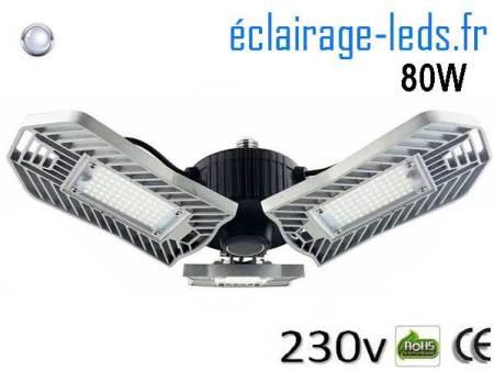 Ampoule led E27 plafonnier 80w SMD blanc 6000K 230v AC