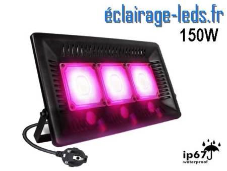 Projecteur LED Horticole 150w plein spectre IP67