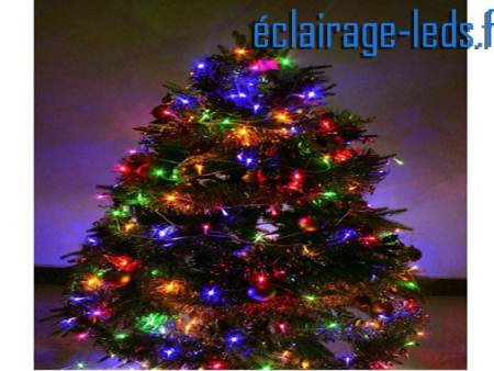 Guirlandelumineuse LED 21.5m RGB 200 leds