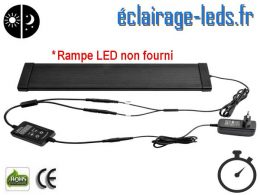Minuterie rampe LED pour Aquarium