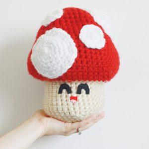 Mushroom Crochet Recipe Pattern
