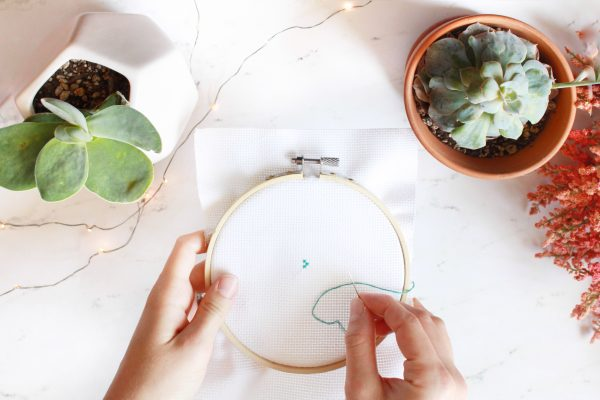 Learn How to Cross Stitch: Part 4 – Danish Cross Stitch Method