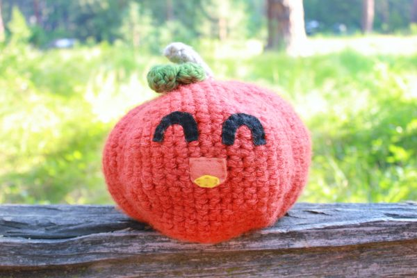 Jumbo Pumpkin Crochet Recipe Pattern