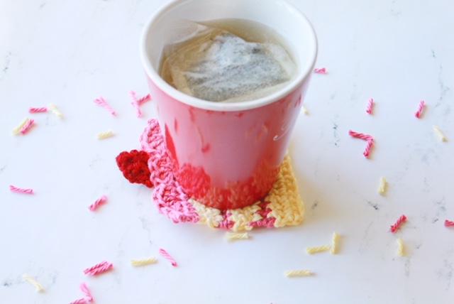 Cake Slice Coaster: Free Crochet Pattern