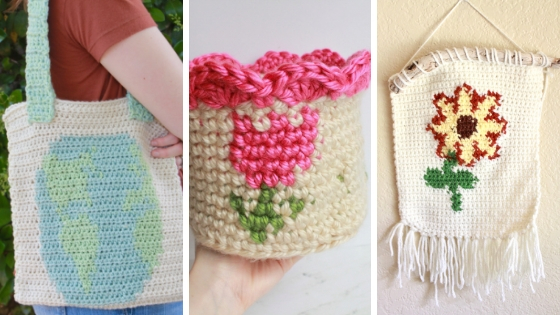 Tapestry Crochet Cactus Coasters E Claire Makery