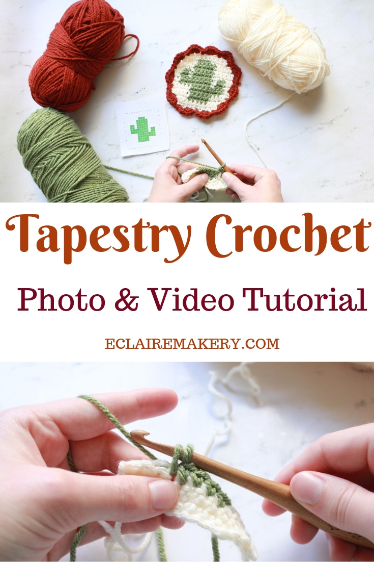 Easy Guide to Tapestry Crochet by E'Claire Makery