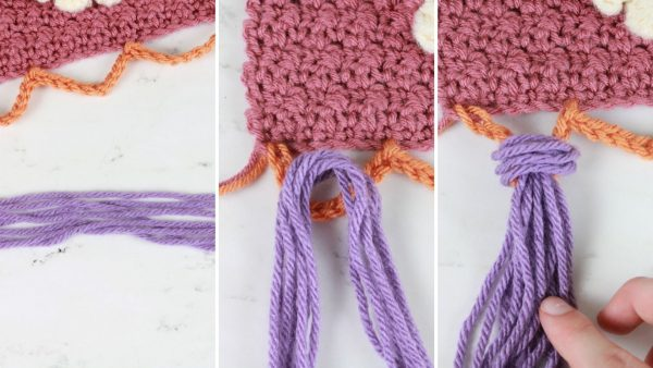 How to Assemble the Tassels on the Llama Wall Hanging
