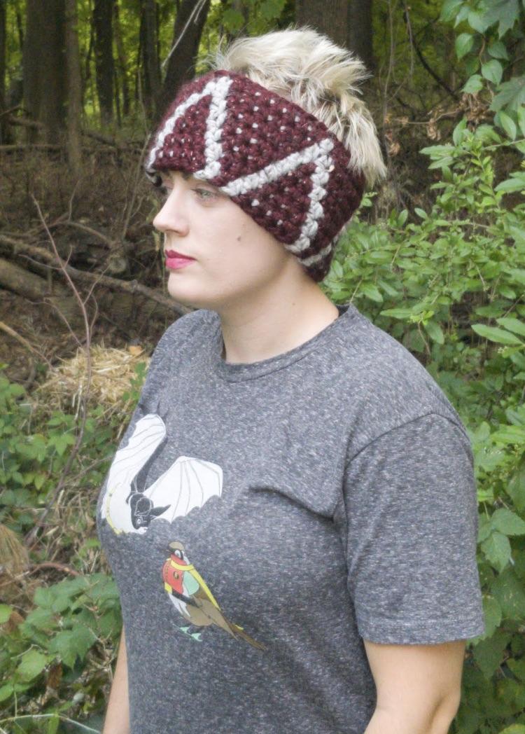 Ain't No Mountain Ear Warmer: Free Crochet Pattern