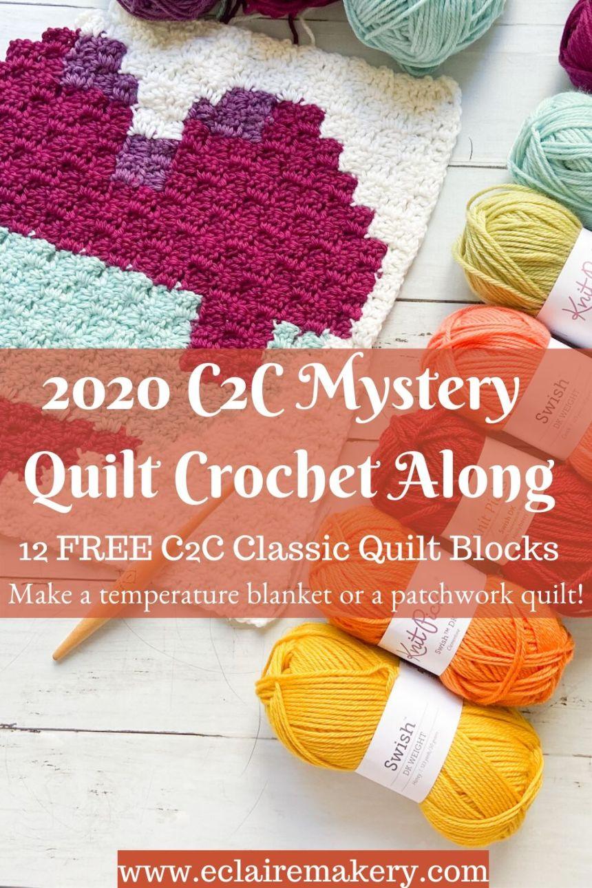 2020 C2C Mystery Quilt Crochet Along