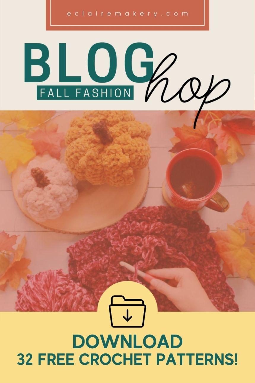 Fall Fashion Blog Hop: 32 Free Crochet Patterns!