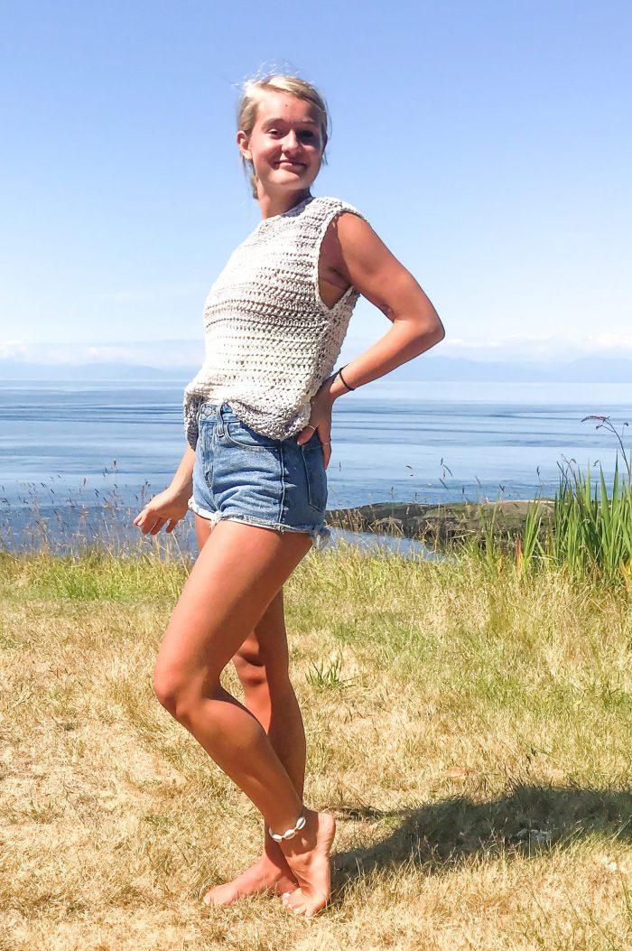 Free As A Breeze Tee: Free Crochet Summer Top Pattern