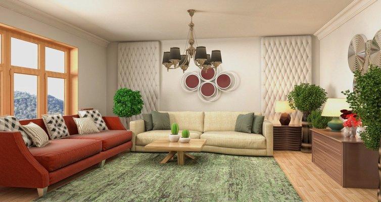 Salon design intérieur - Image par Tung Nguyen de Pixabay