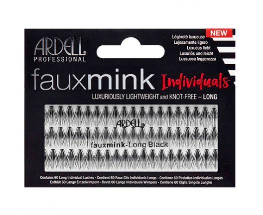 Knot-Free Faux Mink Individuals-long Black
