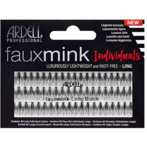 Knot-Free Faux Mink Individuals-long Black