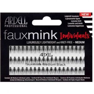 Knot-Free Faux Mink Individuals-Med Black