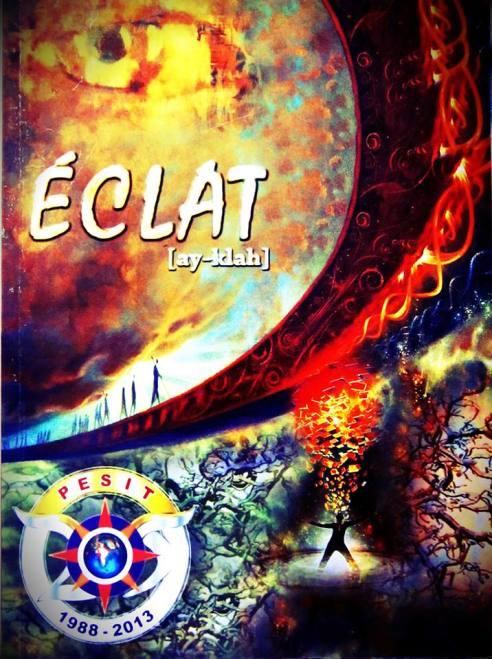 Éclat 2013 Cover