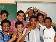 Winners of the Bollywood Quiz an EWD-Activity organized by the EEE dept!