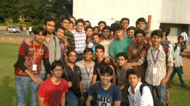 Anil Kumble at PESIT