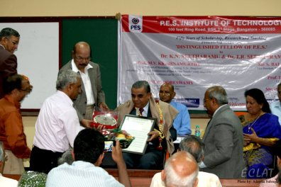 Distinguished Fellow of PESIT- TRS Sir