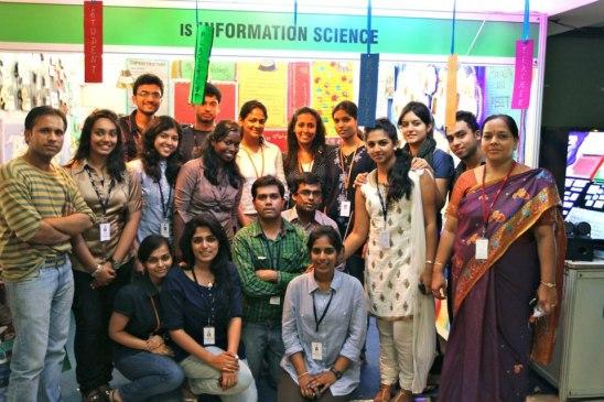 ISE - Winners of the best stall at Prakalpa 12