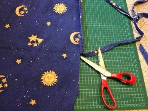 Upcycling old bed linens