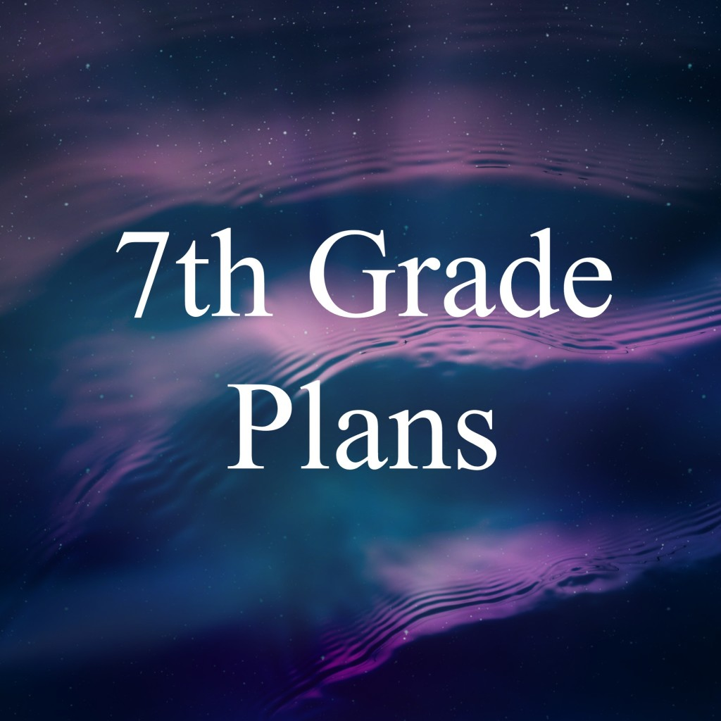 7th Grade Plans Eclectic Homeschooling