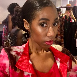 New York Fashion Week Featuring Runway Model Lia Jamerson