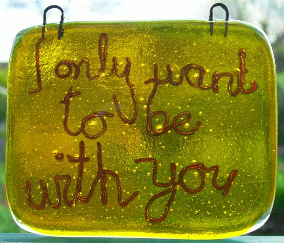 sunshine and fusewire - approx 8cm x 7cm - £12