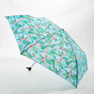 Blue Flamingo umbrella