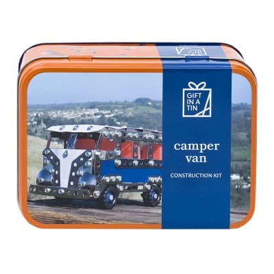 Gift in a Tin – Camper Van Construction Kit – Original Tin