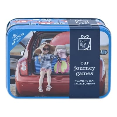 Gift in a Tin – Car Journey Games – Original Tin