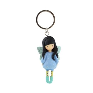 Gorjuss Moulded Key Ring Bubble Fairy