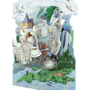 Santoro London - London - 3D Pop-Up Card