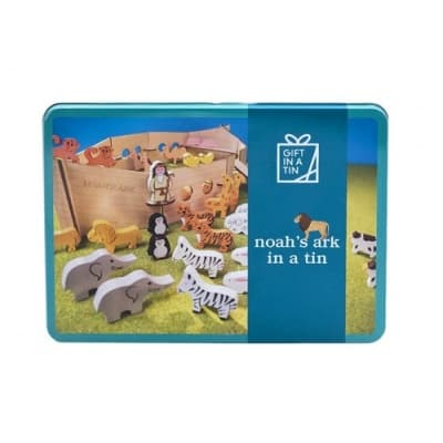 Gift in a Tin – Noah's Ark in a Tin – Giant Tin