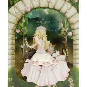 Santoro London - Princess on a Swing - 3D Pop-Up Swing Card