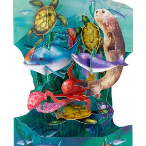 Santoro London - Underwater World- 3D Pop-Up Swing Card