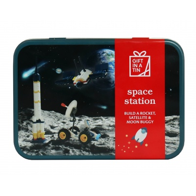 Gift in a Tin – Space Station – Original Tin