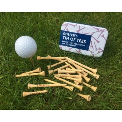 Gift for Grown-Ups – Golfer's Tin of Tees